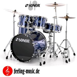 Sonor Sfx 11 Smart Force Xtend Drumset Studio Wm Brushed
